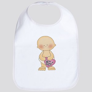 Adoption Heart Bib